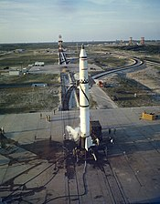 Redstone Missile on Launch Pad-5800669
