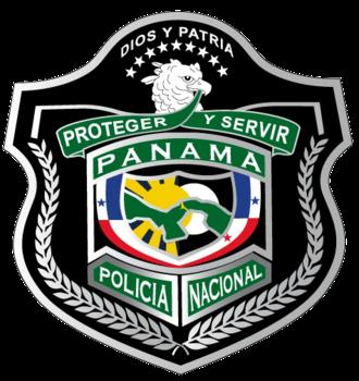 Panamanian Public Forces - Image: POLICIA NACIONAL DE PANAMA LOGO v 2011