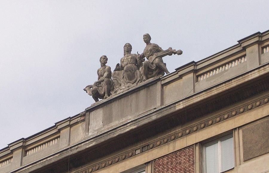 The Music (sculpture)