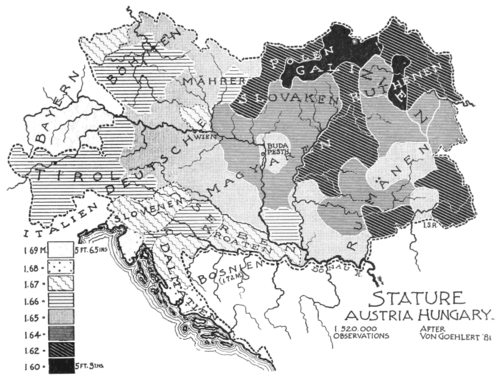 PSM V53 D757 Population diversity map of austria hungary.png