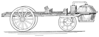 PSM V57 D416 Cugnot's steam gun carriage of 1763.png