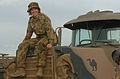 PTE Shaylee Gomes and her truck.jpg