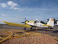 PZL M18 Dromader cargando agua (24456989060).jpg