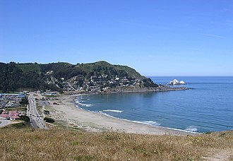 Pacifica State Beach - Image: Pacifica State Beach