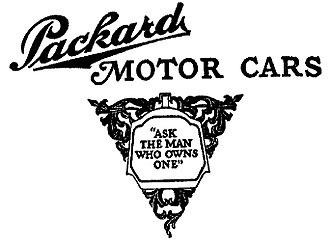 Packard - 1910 Packard advertisement