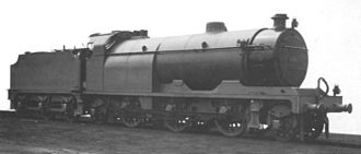 Steam motor - The Paget locomotive