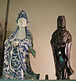 Pair of Chinese Guanyins, Museum of Anthropology (7960614232).jpg
