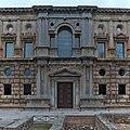 Palacio de Carlos V, Granada. Portada meridional.jpg