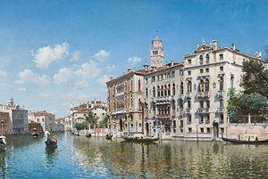 Federico del Campo - Palazzo Cavalli-Franchetti, Venice