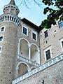 Palazzo Ducale (Urbino) - lato ovest 10.jpg