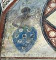 Palazzo comunale di s. miniato, sala delle sette virtù, stemma federighi 01.JPG