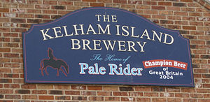 Kelham Island Brewery - Sign on the Building