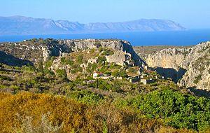 Kythira - Ruins of Paliochora
