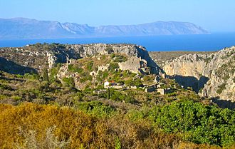 Kythira - Ruins of Paliochora