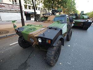Panhard VBL (Vèhicule Blindé Legér), French army licence registration '6924 0057' pic1.JPG