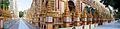 Panorama of the crazy colourful Thanboddhay Paya.jpeg