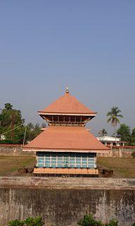 Poothadi village in Kerala, India