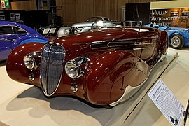 Paris - Retromobile 2012 - Delahaye type 165 cabriolet - 1939 - 001.jpg