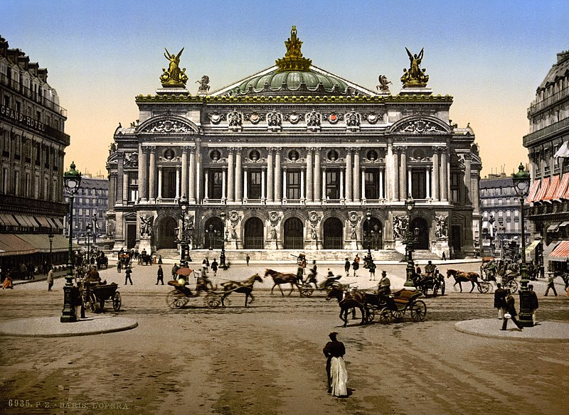 Ficheiro:Paris Oper um 1900.jpg