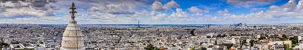 Vista panoràmica de París.