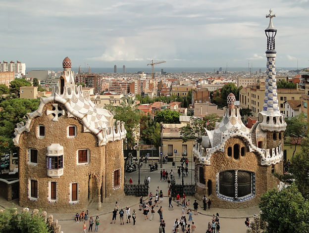 Park Güell, by Gaudí