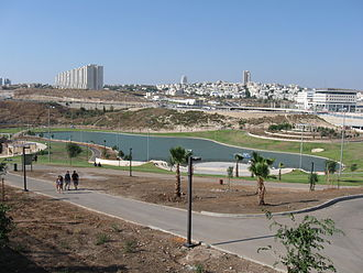 Modi'in-Maccabim-Re'ut - Wadi Anaba Park west of the city center
