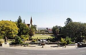 Parlamentsgärten, Windhoek