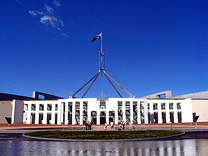 Romaldo Giurgola - Image: Parliament House Canberra (281004929)