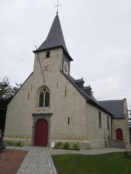 Church Onze-Lieve-Vrouw Hamme Merchtem Belgium