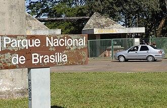 Brasília National Park - Image: Parquedebrasilia