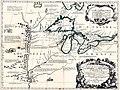 Partie occidentale du Canada ou de la Nouvelle France ou sont les Nations des Ilinois, Coronelli, 1688, 01.jpg