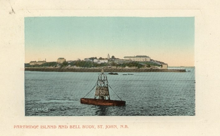 Partridge Island and Bell Buoy