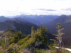 Pasayten Wilderness - View from Slate Peak