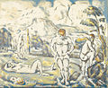 Paul Cezanne - The bathers (large plate) - Google Art Project.jpg
