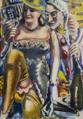 Paul Kleinschmidt Doppelbildnis Faschingbild 1940.png
