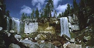 Paulina Creek Falls - Image: Paulina Creek Falls