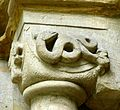 Paulinzella Klosterkirche - Portal 4b Kapitell.jpg