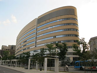 Université du Québec à Montréal - UQAM Président-Kennedy building, Montreal.