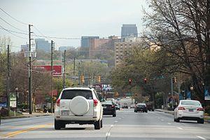U.S. Route 19 in Georgia - U.S. Route 19 in Atlanta