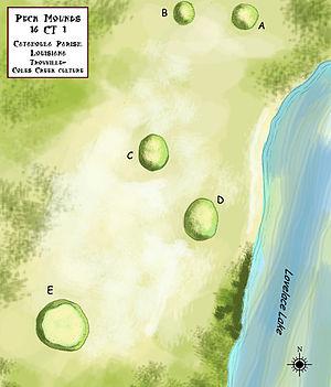 Troyville culture - Peck Mounds