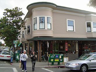 Peet's Coffee - Peet's original store in North Berkeley, California.