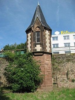 Pegelturm am Johanniterufer 2009