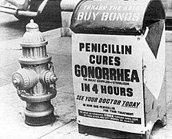 Ρεκλάμα του 1940: η πενικιλίνη θεραπεύει