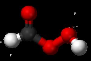 Performic acid - Image: Performic acid 3D balls