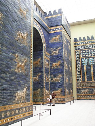 Vorderasiatisches Museum Berlin - View of the Ishtar Gate.