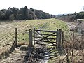 Permissive bridleway alongside the A273 - geograph.org.uk - 1746576.jpg