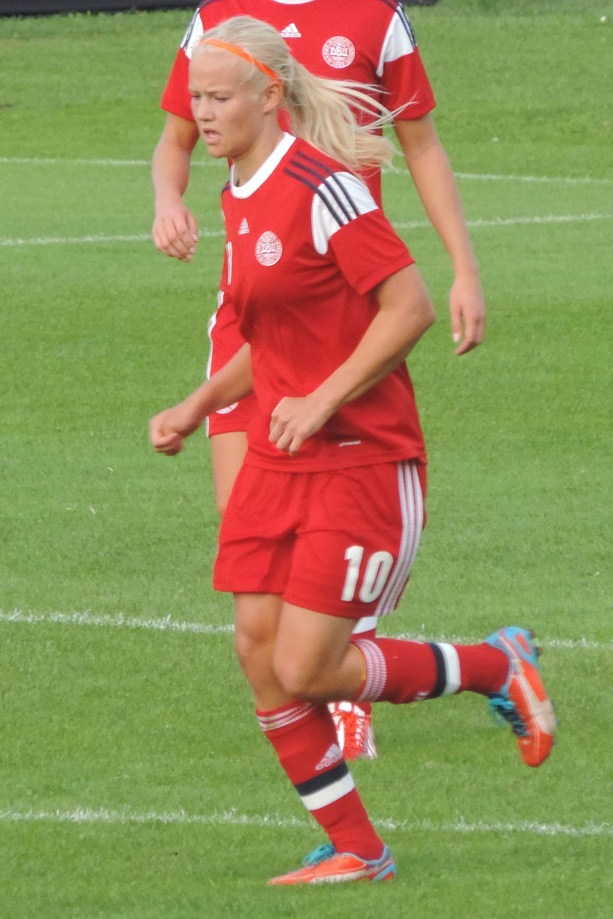 Pernille Harder (Fußballspielerin) - Wikipedia