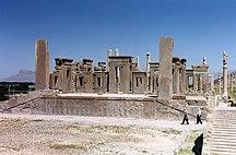 Iran-Dinastie monarchiche-Persépolis. Palais de Darius