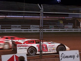National Dirt Late Model Hall of Fame - Image: Pete Parker 2006Dirt Late Model 2