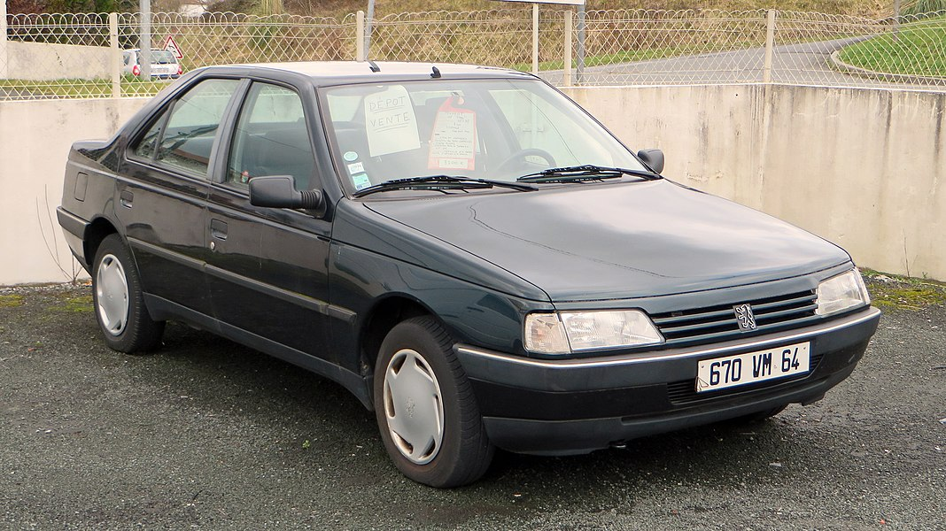 1995 Peugeot 405 Sillage Phase II  Selling at €3,200 (!!!): in my opinion the guy will not get any close to it... Especially it being a petrol!  The sign in the windscreen says: - Petrol - 100,017 Km (62,150 miles) - front electric windows - central locking - power steering - cambelt done at 90,000 Km (56,000 miles) - MOT